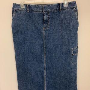 Kate Hill Denim Skirt